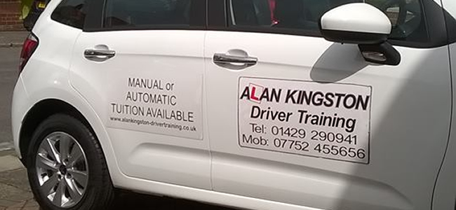 Alan Kingston Driver Training